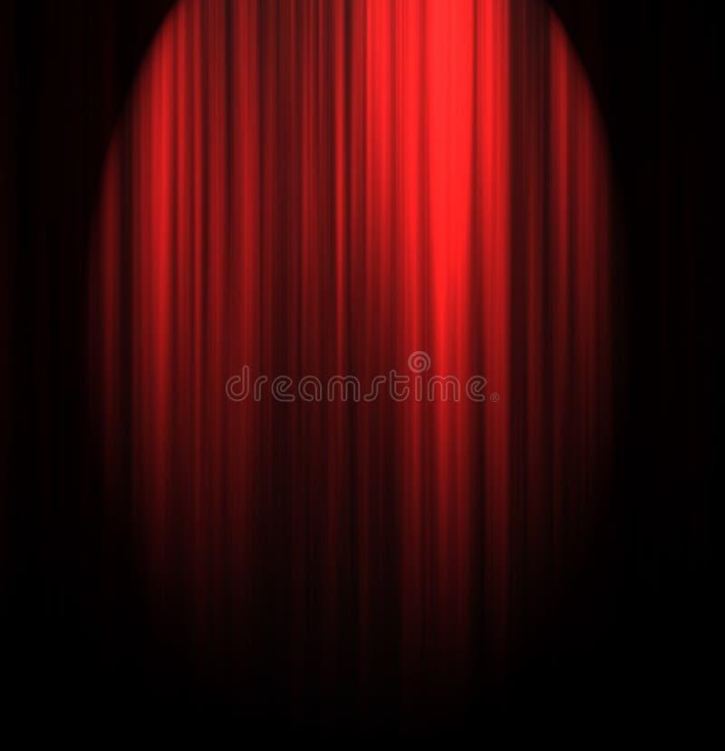 Занавес театра иллюстрация штока