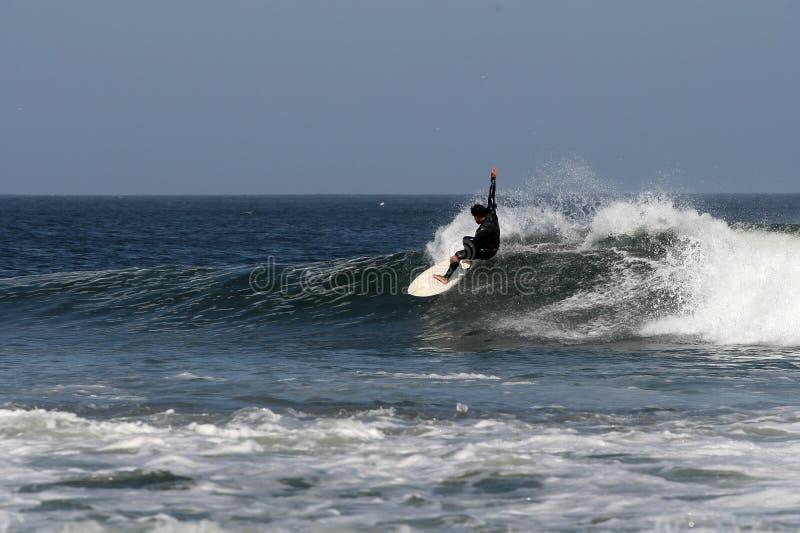 заниматься серфингом Мексики baja abreojos стоковое изображение