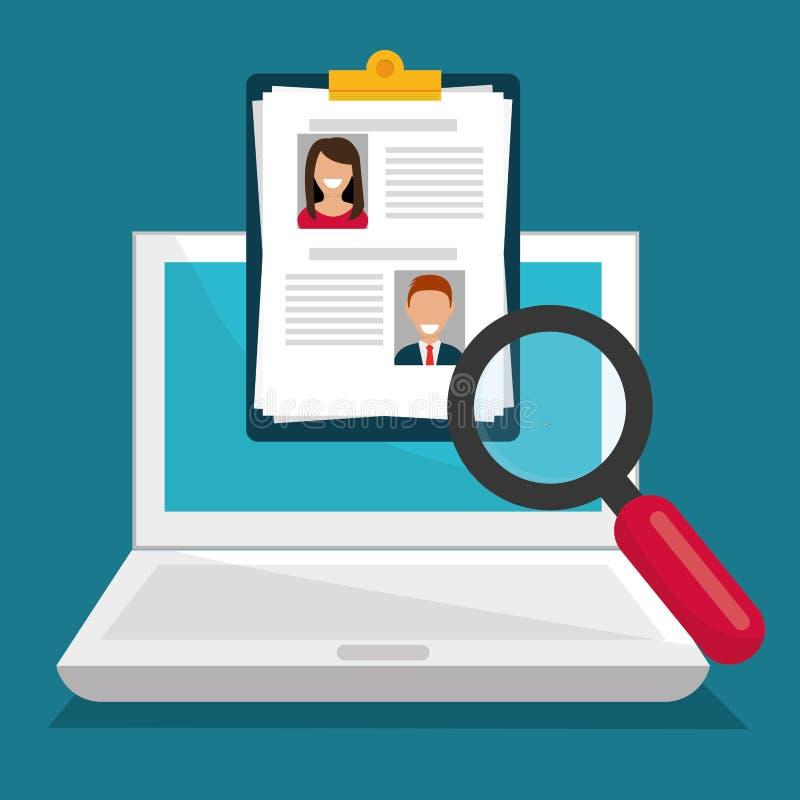 Занятость поиска и находки бесплатная иллюстрация