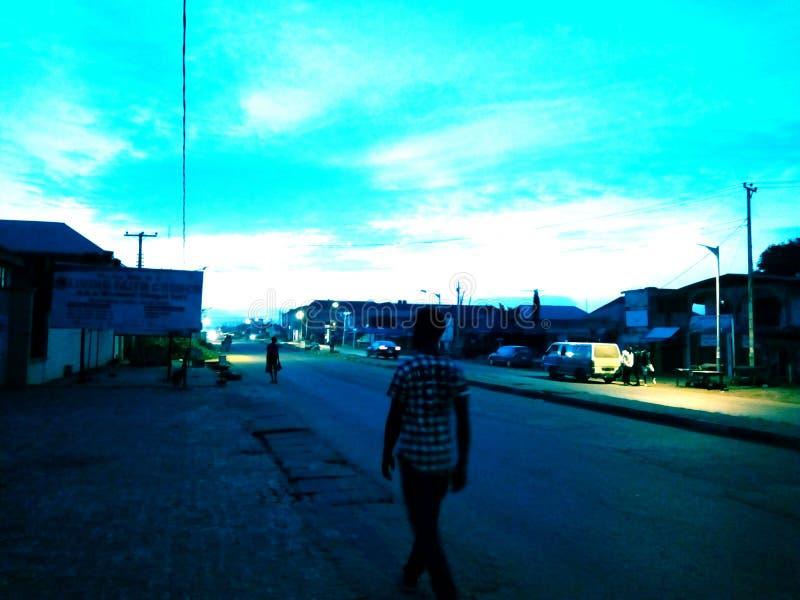 Западная западная Африка стоковая фотография rf