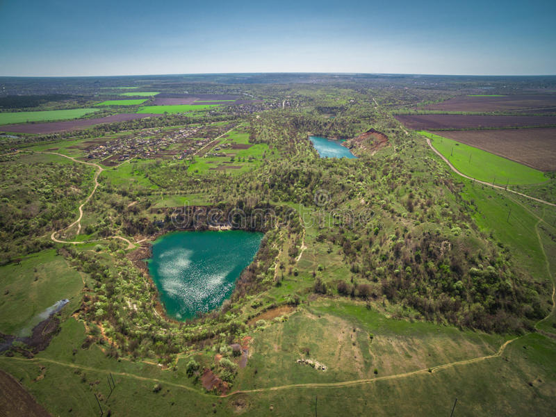 Запас озера карьер стоковое фото rf
