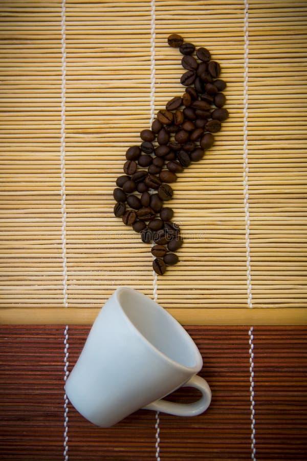 Запах кофе xmas стоковые фотографии rf