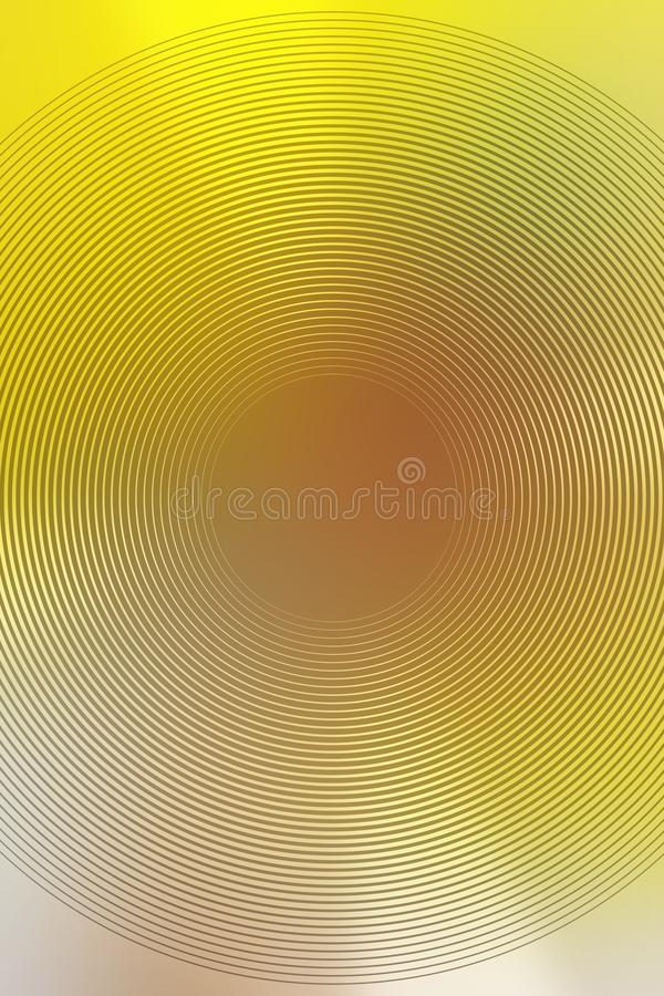 Запачкайте желтый абстрактный дизайн фона Texture effect иллюстрация вектора
