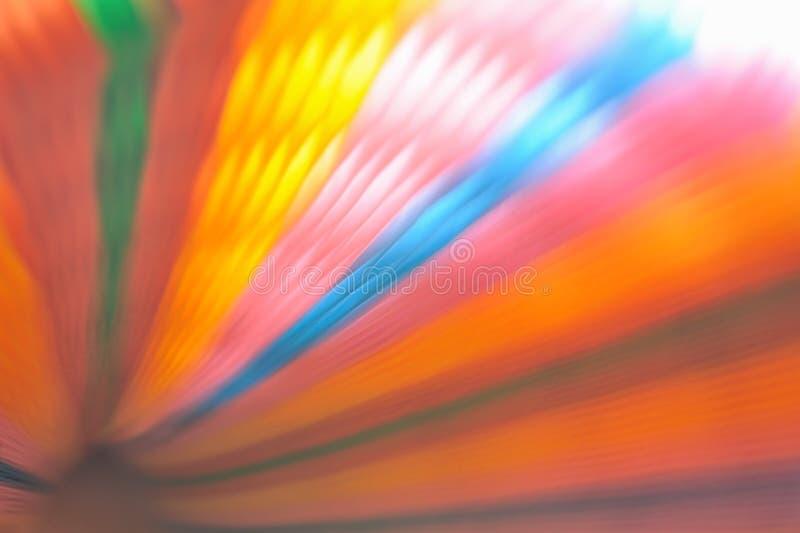 Запачканная красочная бумага на предпосылке стоковые изображения