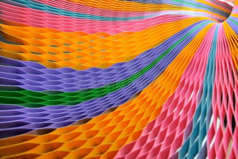 Запачканная красочная бумага на предпосылке стоковая фотография