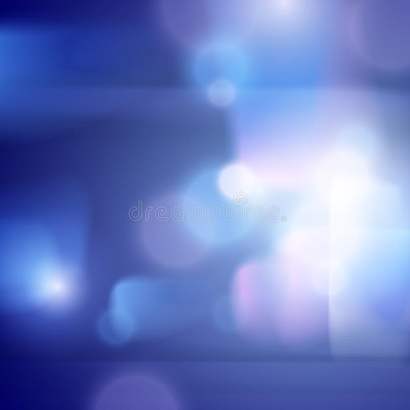 Запачканная предпосылка города defocused за окном, иллюстрацией вектора из ночи фокуса или вечером иллюстрация вектора