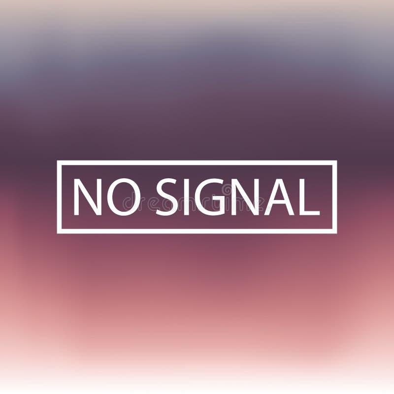 Запачканная предпосылка, иллюстрация вектора, отсутствие сигнала бесплатная иллюстрация