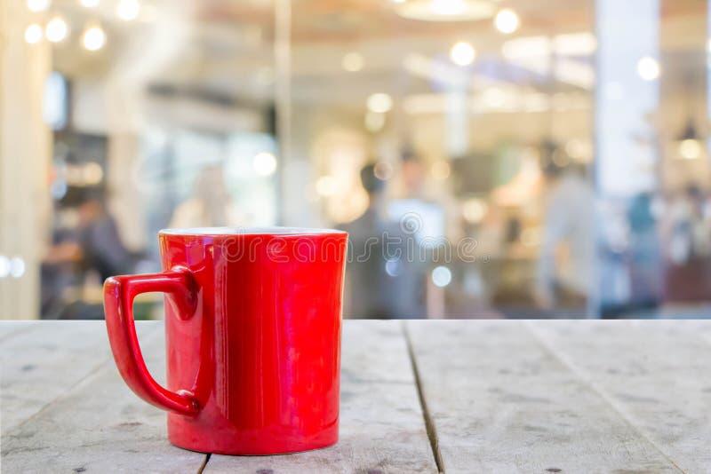 Запачканные люди в кофейне стоковая фотография