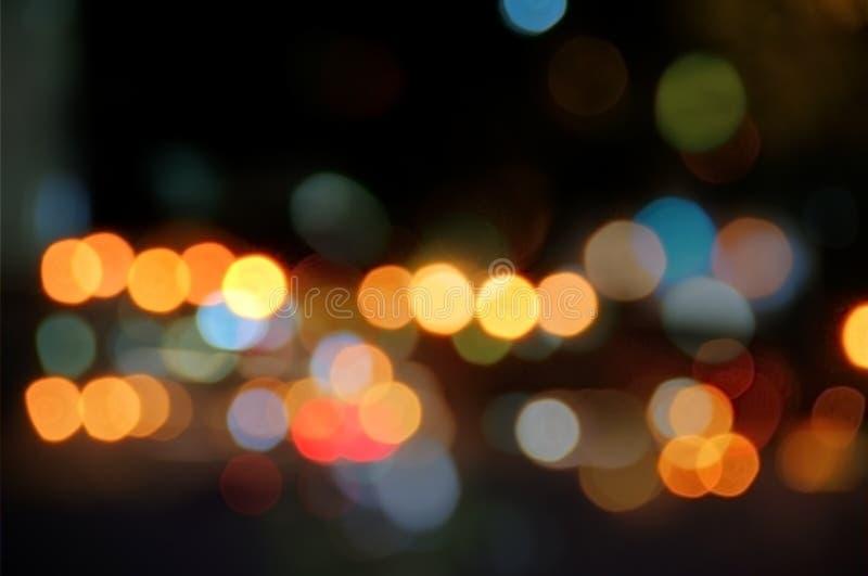 запачканные света стоковая фотография