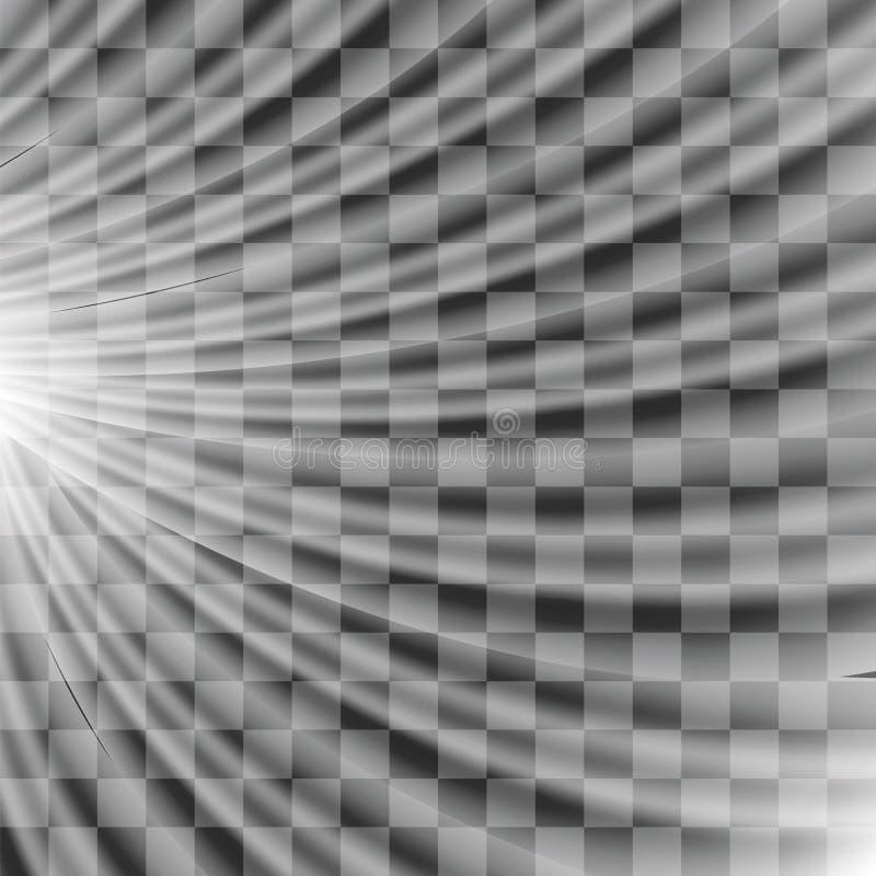 Запачканные лучи Солнця иллюстрация вектора