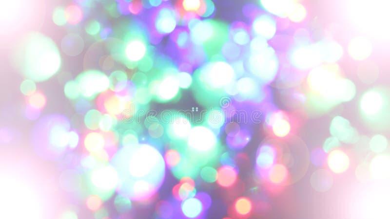Запачканные fairy света стоковая фотография