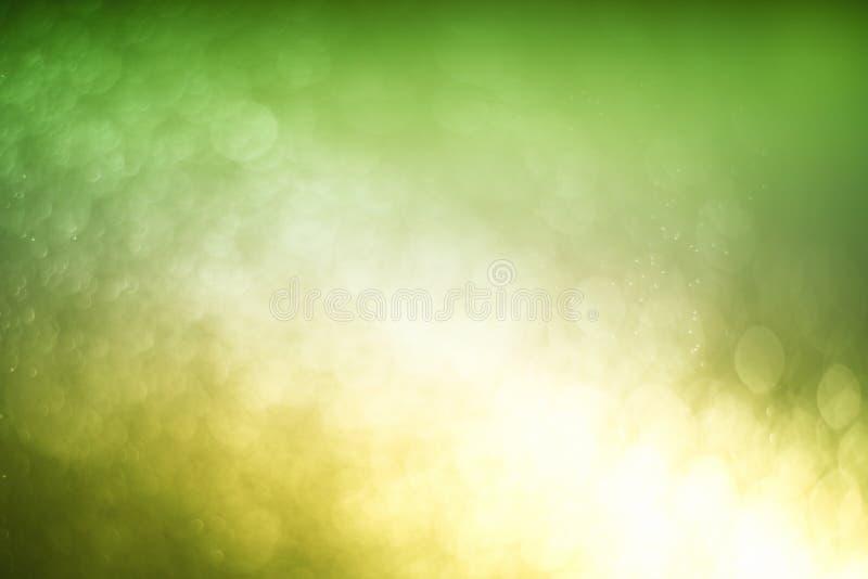 Запачканный абстрактный свет bokeh предпосылки воды мухы, рождества 2 цвета тона стоковое изображение rf