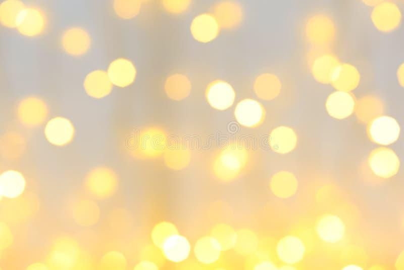 Запачканный взгляд красивых светов рождества бесплатная иллюстрация