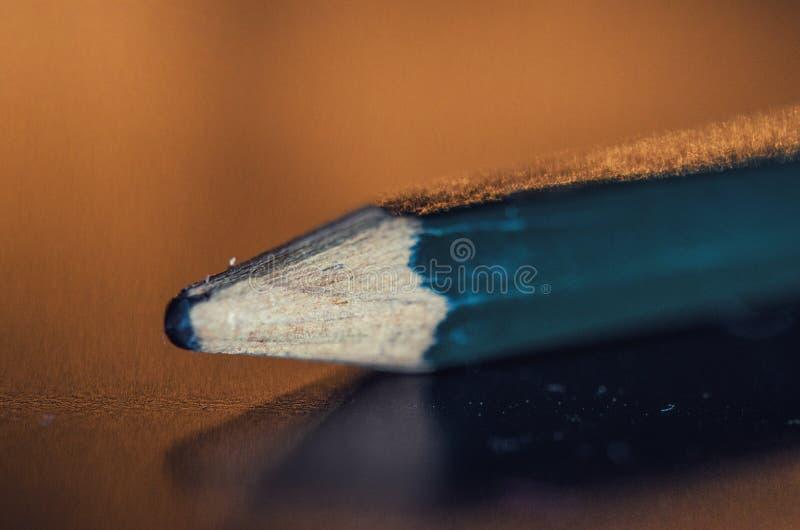Запачканный карандаш стоковые фотографии rf