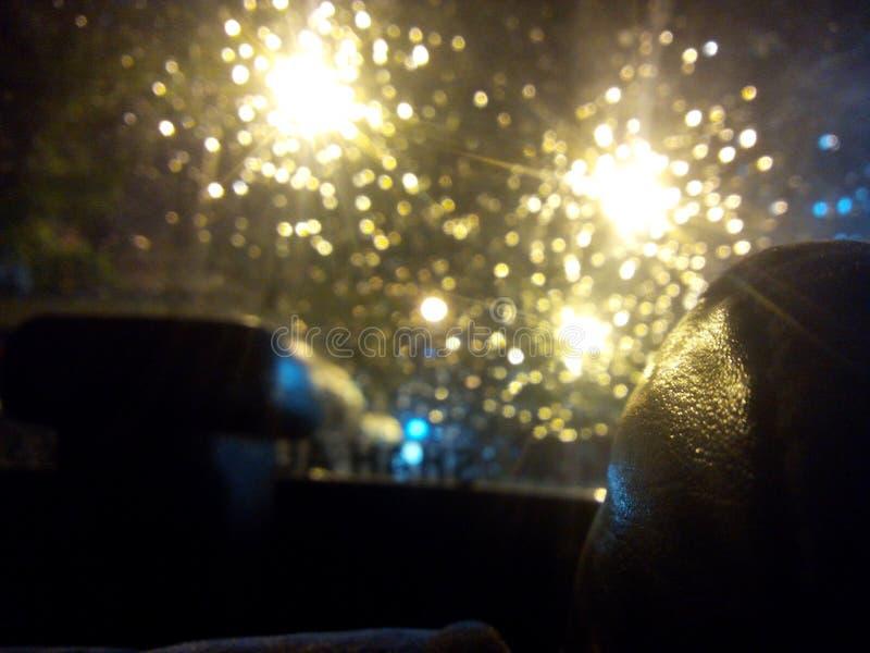 запачканный свет стоковая фотография
