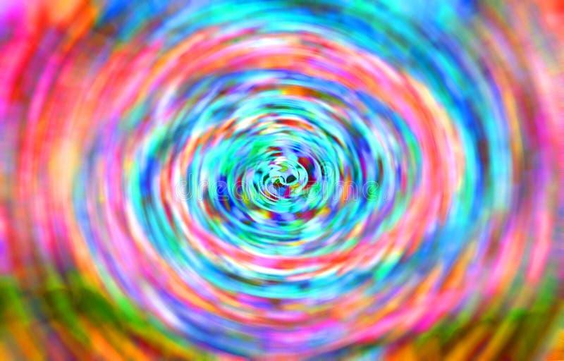 Запачкано изображение и линия зигзаг и красочное красивое, стоковая фотография rf