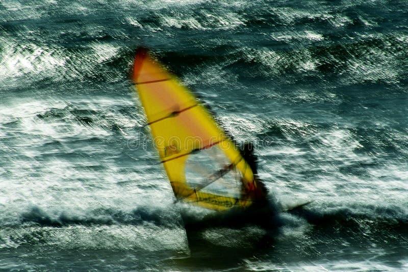 запачкано windsurf стоковые изображения