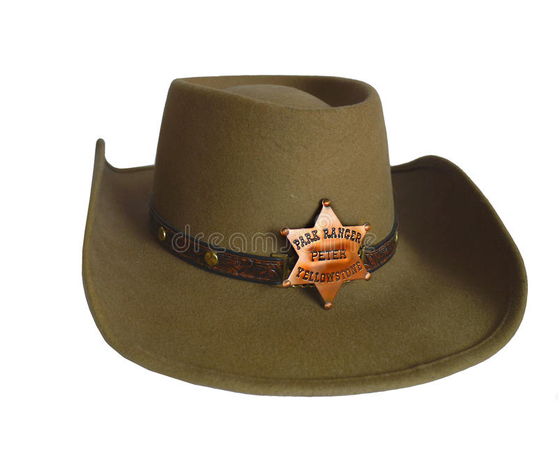 Западная ковбойская шляпа стоковое фото rf