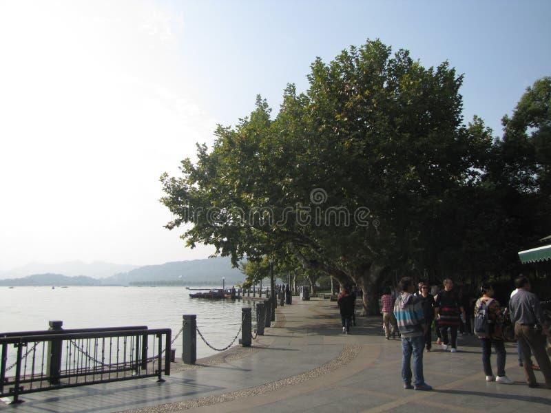 Западное озеро стоковые фотографии rf