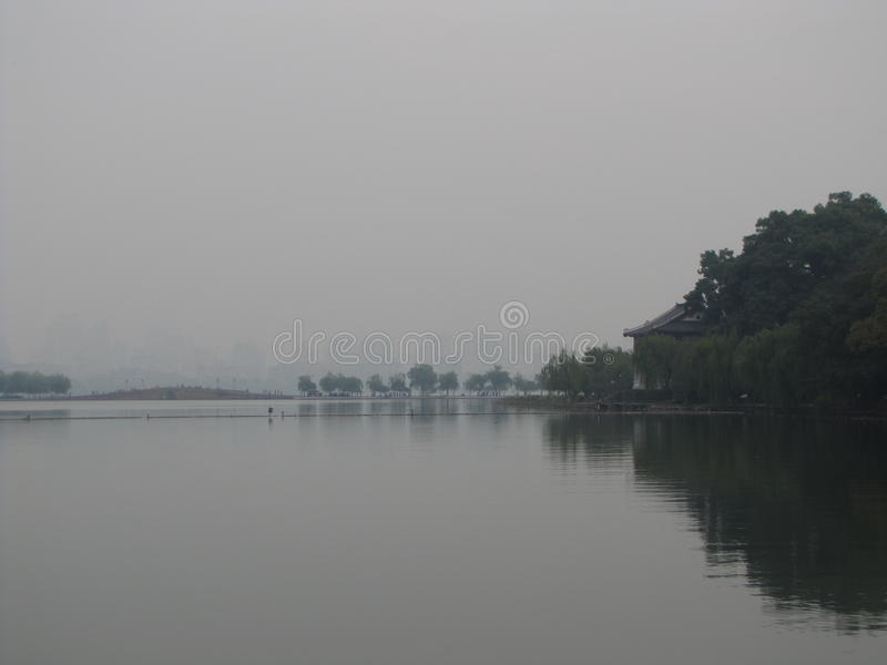 Западное озеро стоковое фото