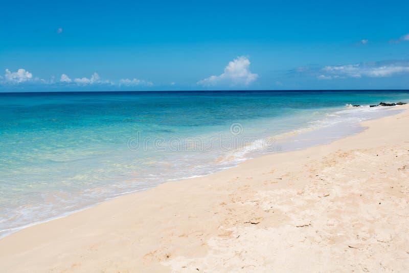 Западное побережье Вест-Индия в сентябре стоковая фотография rf