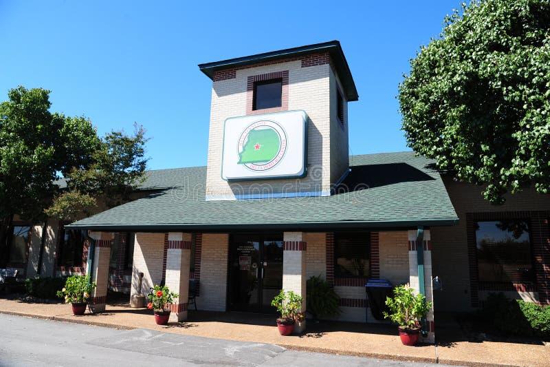 Западные центр и музей наследия перепада Теннесси стоковое изображение