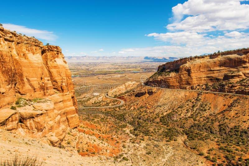 Западный ландшафт Колорадо стоковое изображение