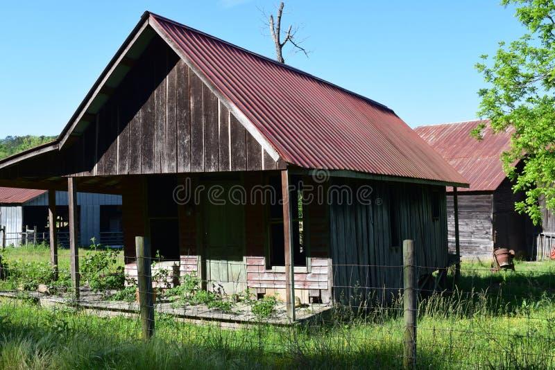 Западный дом фермы NC старый стоковые изображения rf