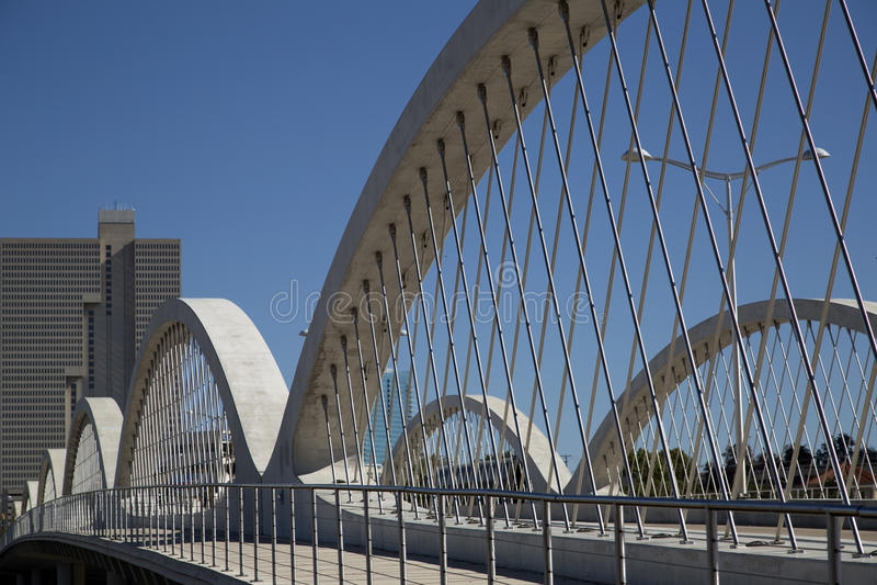 Западный седьмой мост улицы стоковые фото