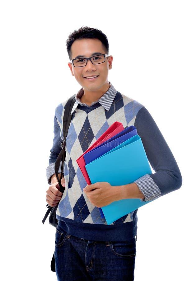 записывает студента нося стоковая фотография rf