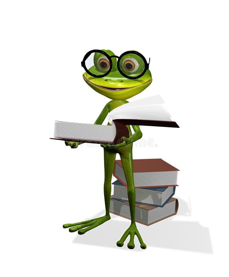 Download записывает лягушку иллюстрация штока. иллюстрации насчитывающей интерес - 41658057