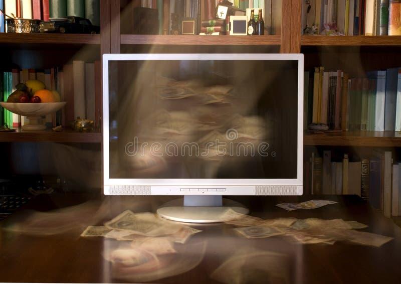 записывает tv стоковое изображение