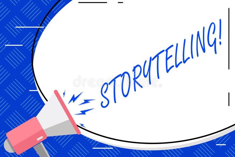 Запись искусства рассказа показа примечания Деятельность при фото дела showcasing говорить или записи романы рассказов к кто-то иллюстрация вектора