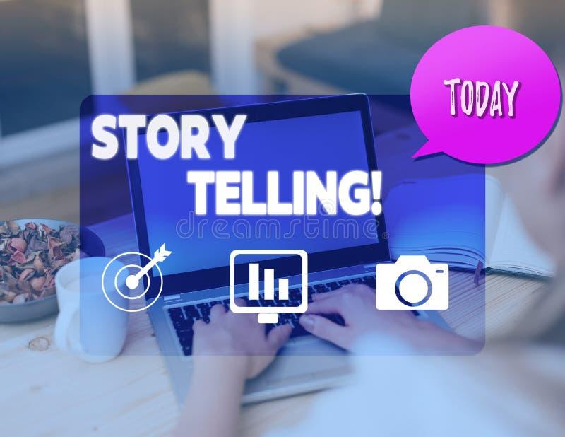 Запись искусства рассказа показа примечания Деятельность при фото дела showcasing писать рассказы для опубликовывать их в публику стоковое фото