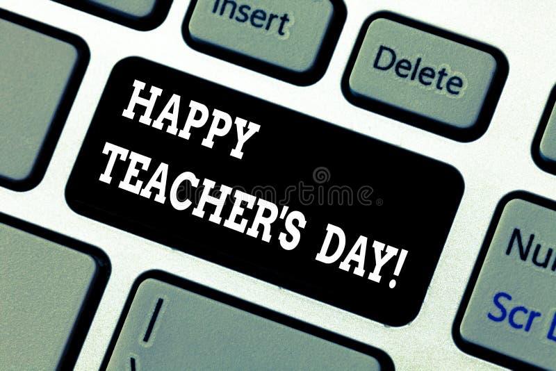 Запись показу примечания счастливого учителя s день Президент Индия рождения вторых фото дела showcasing используемая для того чт стоковые изображения