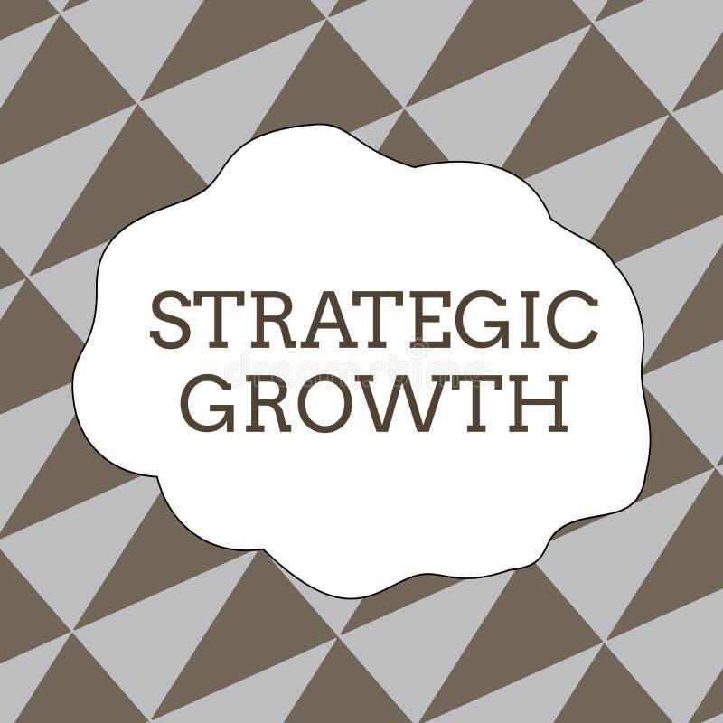 Запись примечания показывая стратегический рост Showcasing фото дела создает план или расписание для увеличения запасов или иллюстрация штока