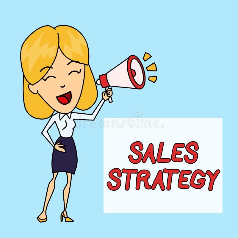 Запись примечания показывая стратегию продаж План фото дела showcasing для достигать и продавать к вашему целевому рынку бесплатная иллюстрация