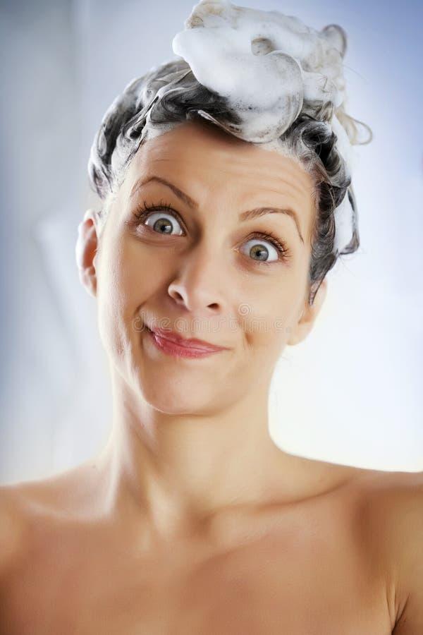 запиток волос стоковые фотографии rf