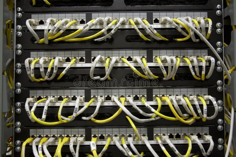 заплата панели локальных сетей стоковое изображение rf