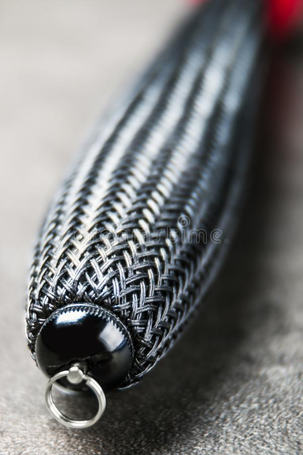 Заплетенная штанга ручки для herabuna Рыболовные снасти и аксессуары стоковое изображение rf
