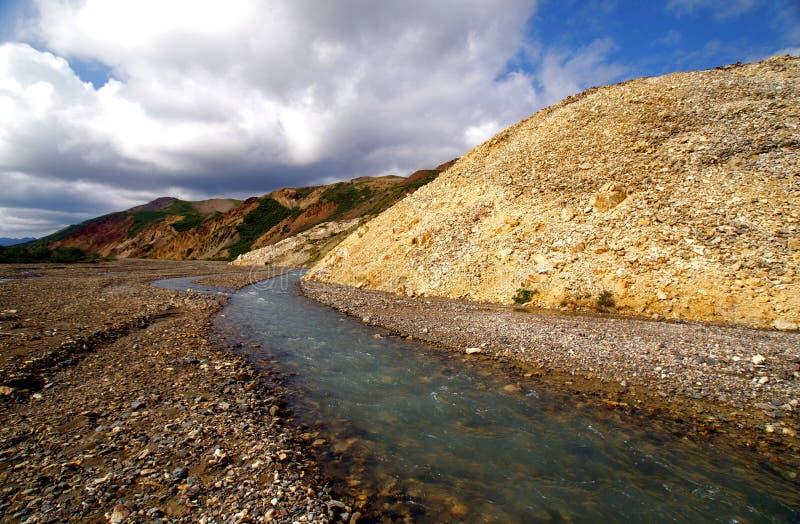 заплетенное река каньона стоковое изображение rf