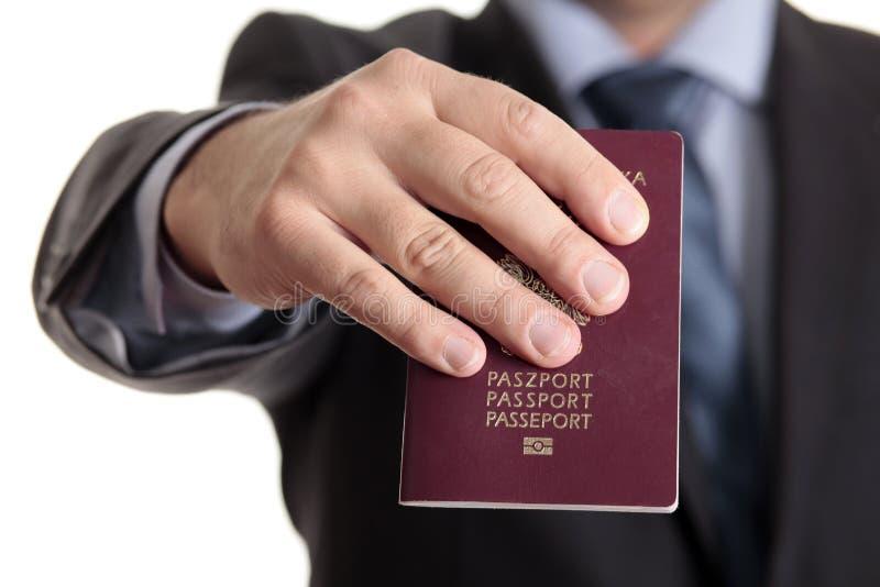 заполированность пасспорта стоковые фотографии rf