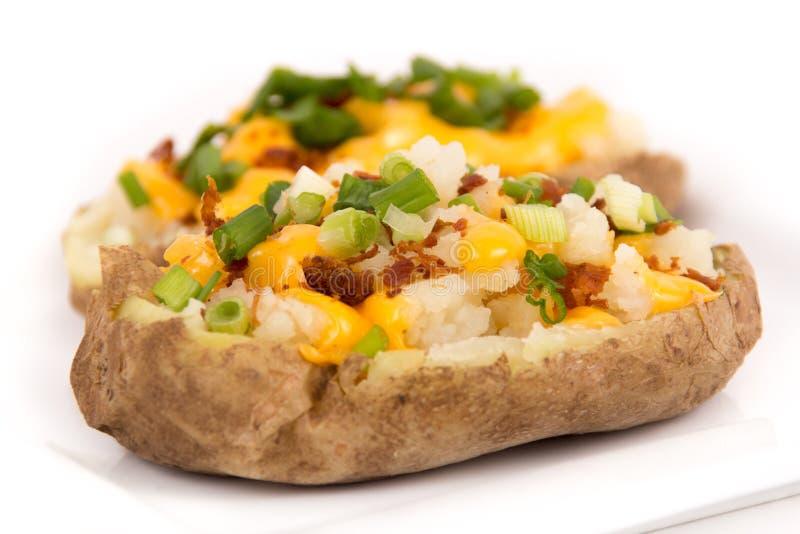 Заполненная кожа картошки стоковое изображение