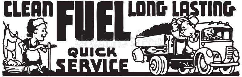 Заправьте топливом быстрое обслуживание бесплатная иллюстрация