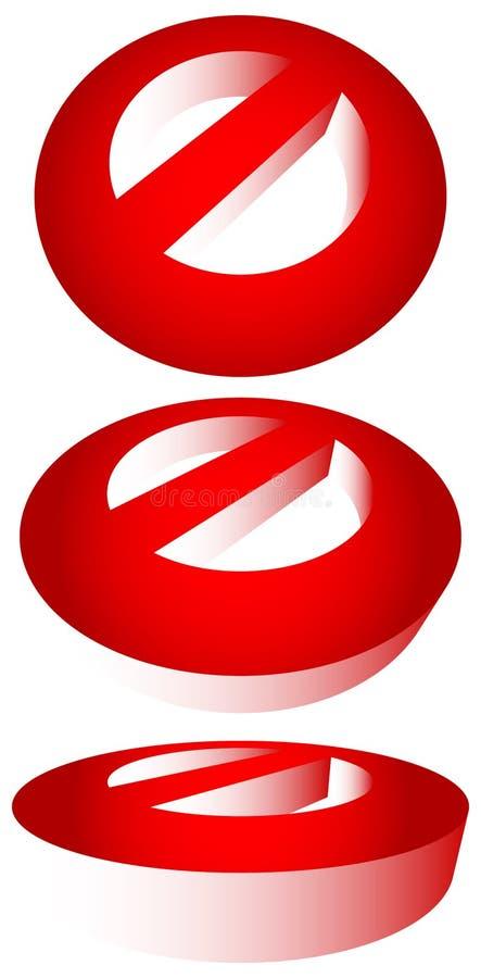 Download Запрет, ограничение Красный цвет забастовк-через дорожные знаки Красный цвет делает Иллюстрация вектора - иллюстрации насчитывающей изолировано, допущения: 81806296