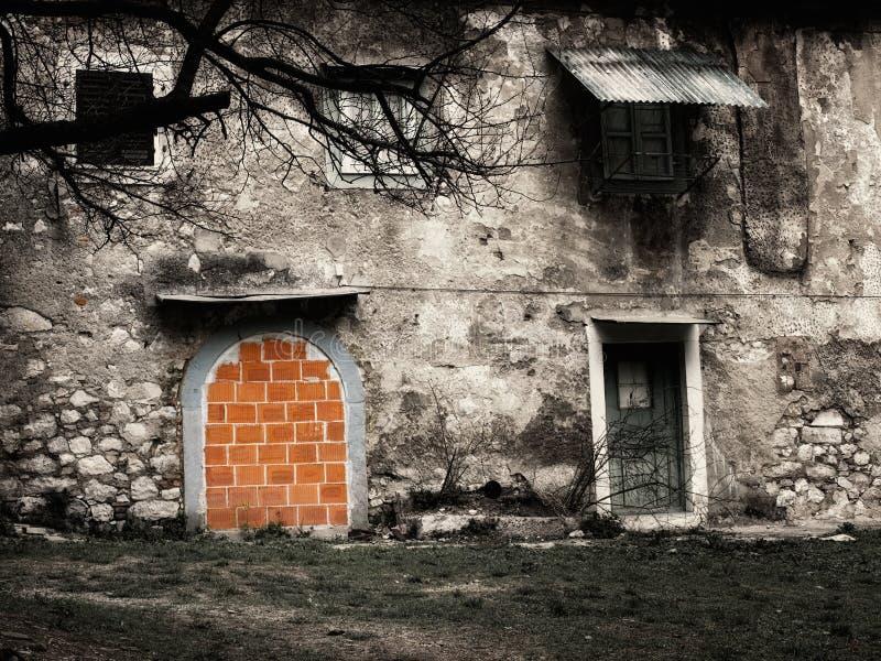 запрещенная дом стоковая фотография rf