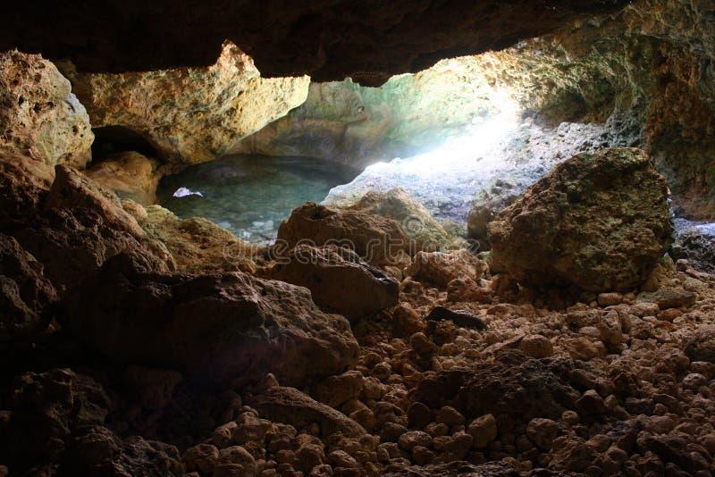 Запрещенная пещера острова стоковое фото