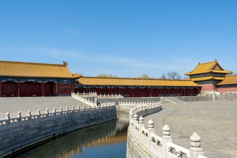 Запрещенный город в Пекин, Китае стоковая фотография