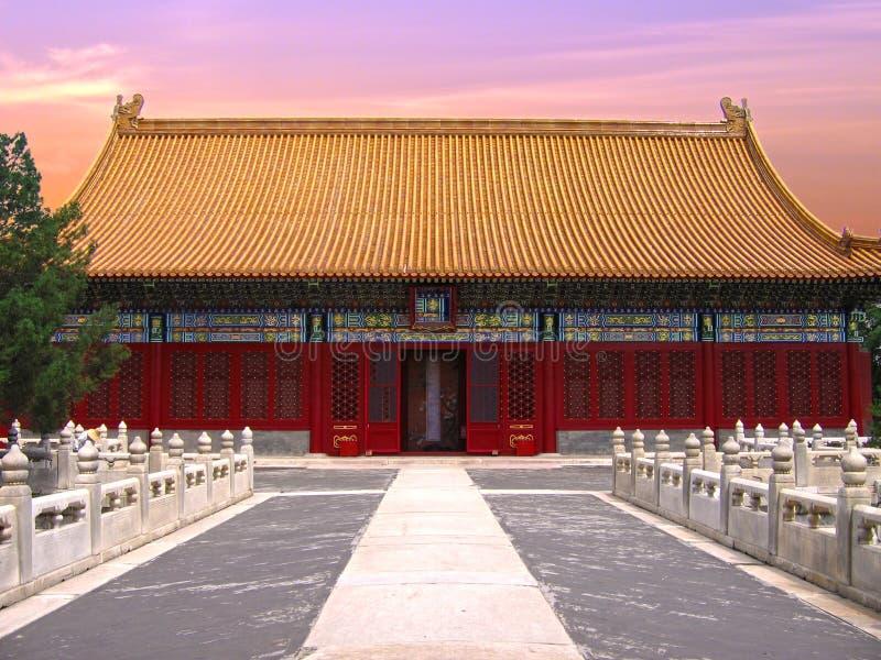 запрещенный город Пекин стоковые изображения rf