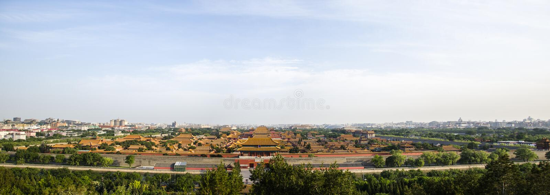 запрещенный город Пекин стоковое фото